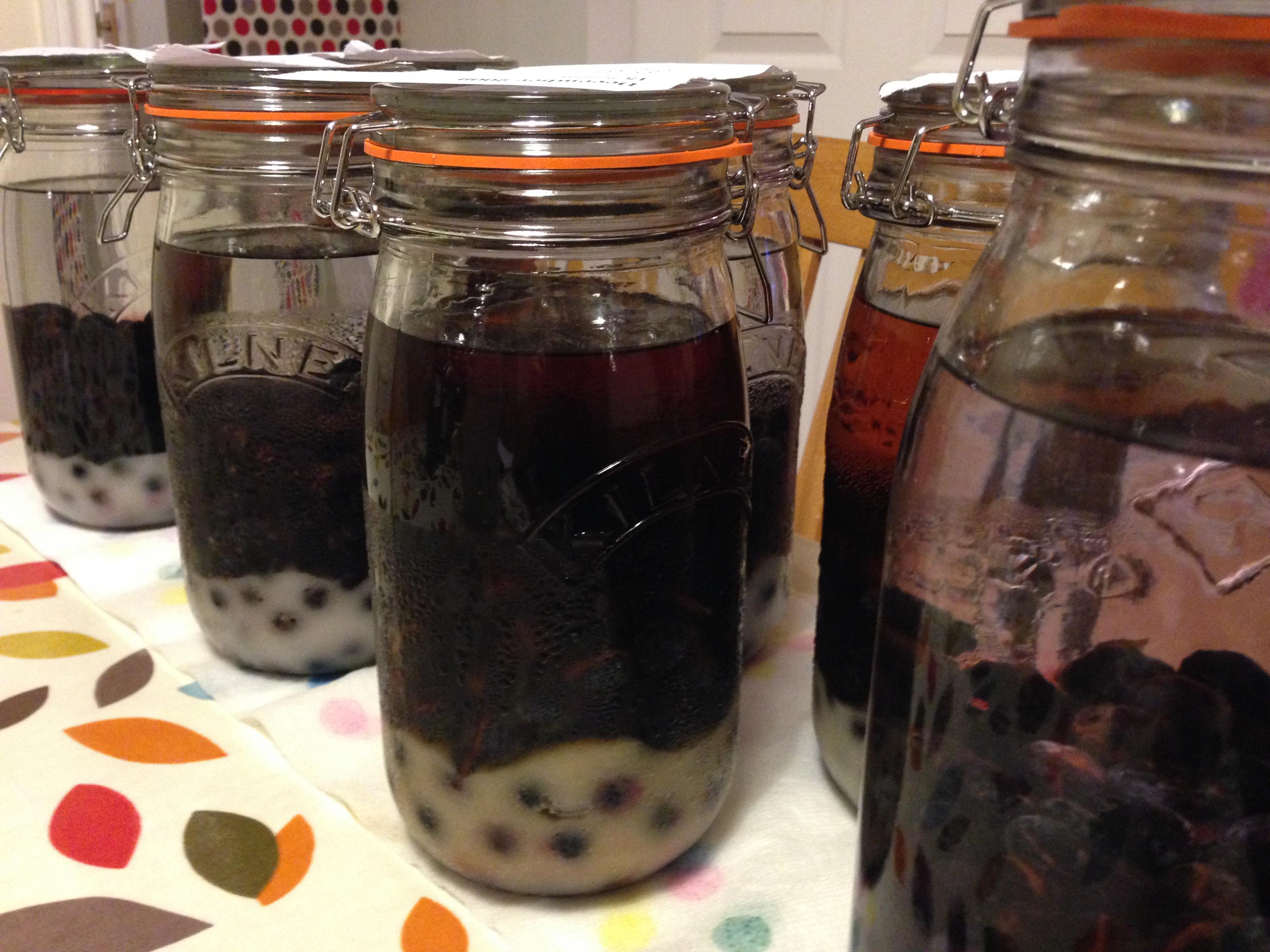 How To Make Sloe Gin >> How To Make Sloe Gin And A Little Bit Of Chemistry